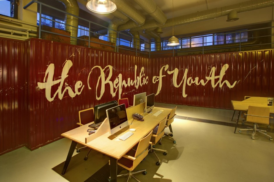 Rooms: Youth Republic Office Interiors In Istanbul By KONTRA