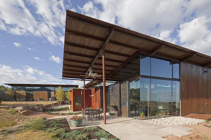 Desert House In Santa Fe By Lake Flato Architects