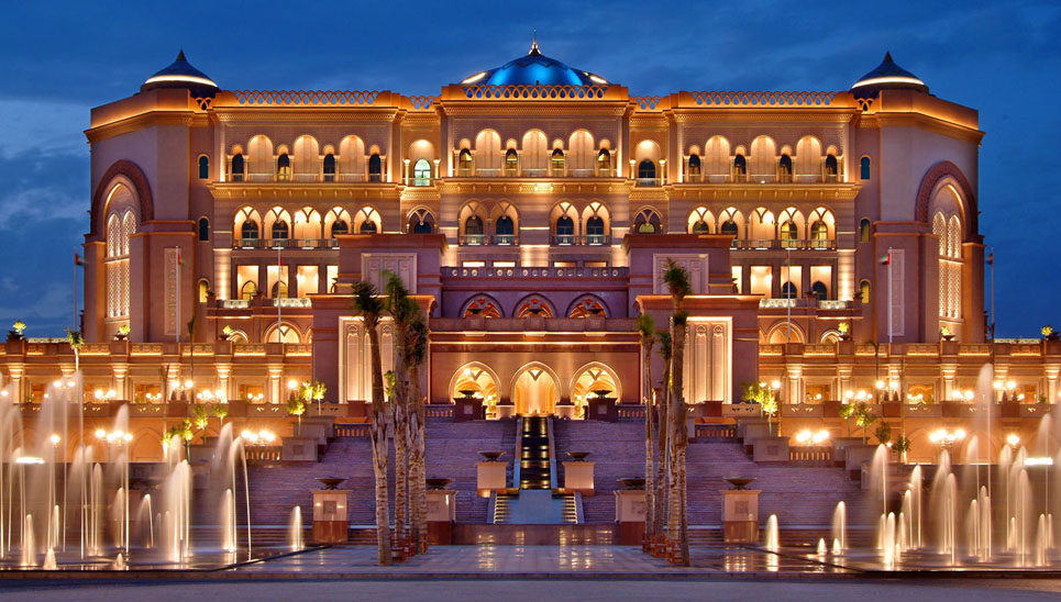 Emirates palace abu dhabi uae by watg awesome architecture for Hotels in uae