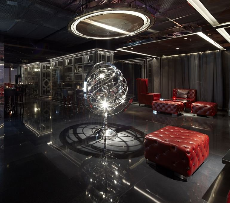 Bar Lighting Design Ideas: Yu Bar At The Marriott Hotel In Shanghai By Kokaistudios