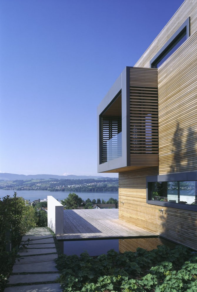 A p house in meilen switzerland by bauart architects for Architecture suisse